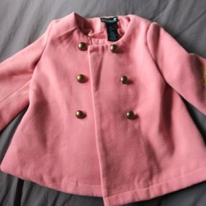 Boutique girls Cynthia Rowley 4T embroidered coat